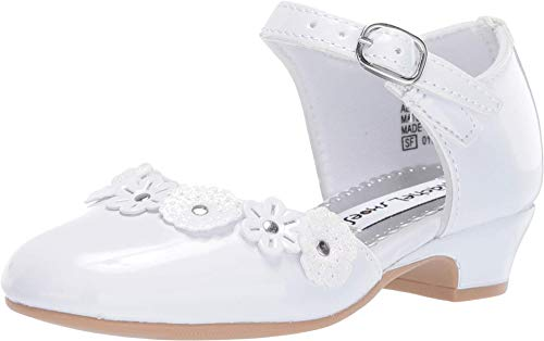 Rachel Kids Girl's Lil Beverly (Toddler/Little Kid) White Patent 7 Toddler