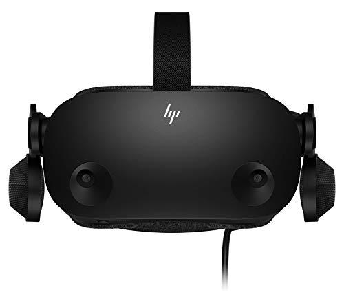 HP Reverb G2 + 2 Controladores – Gafas de Realidad Virtual SteamVR, WMR, resolución 4k, lentes ajustables Valve, 4…