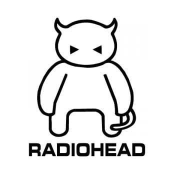 Radiohead Crying Band Car Bumper Sticker Decal 4 X 5