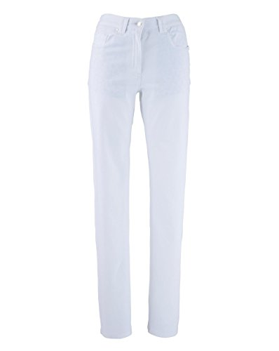 JD Williams Womens Elle Straight Leg Jeans White