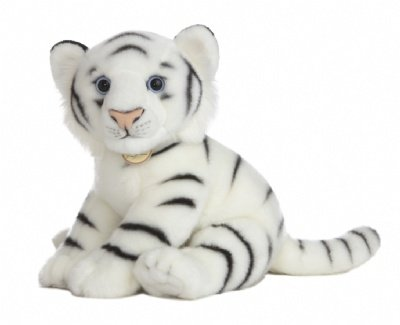 Aurora World Miyoni 14 Inches Stuffed White Tiger from Aurora World