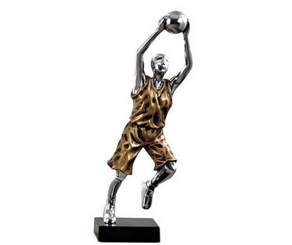 resin basketball statues - 6