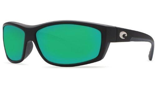Costa Del Mar Saltbreak 580G Matte Black/Green Mirror Polarized - Polarized Mar Costa Sunglasses Del Saltbreak