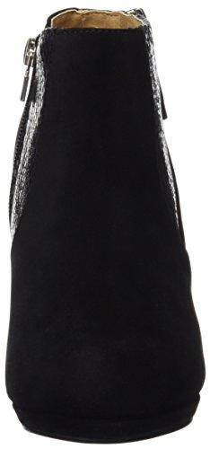 Mariamare 61305, Zapatos De Tacón, Mujer Negro (Peach Negro / Serpiente Negro)