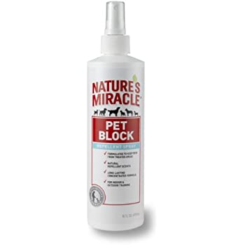 Nature's Miracle Pet Block Repellent Spray, 16-ounce (P-5768)
