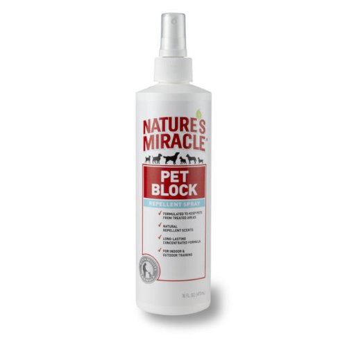 - Nature's Miracle Pet Block Repellent Spray, 16 fl. oz.