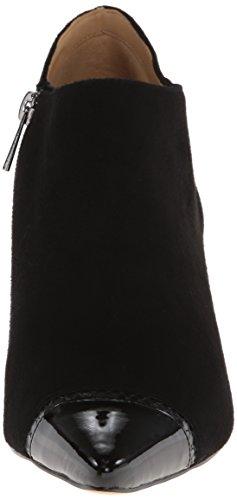 Trotters - Alana Damen schwarze Velourslederoptik