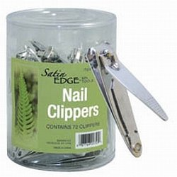 (Satin Edge Nail Clippers In A Container)