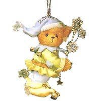 """Jack Frost"" Cherished Teddies 2002 Ornament 104142"