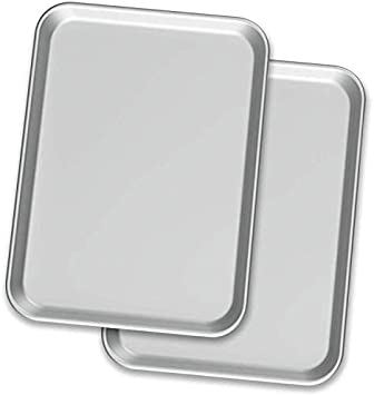 Baking Sheet Pans – Two Aluminium Cookie Sheets