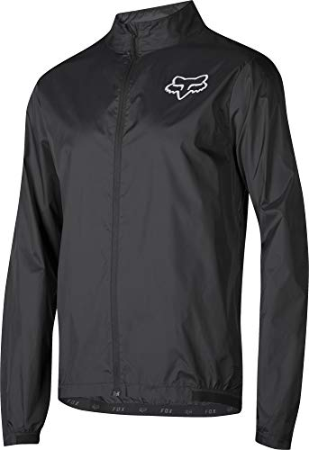 Fox Racing Attack Wind Jacket - Men's Black, S (Fox Jackets For Men)