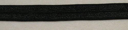5 m elastisches Einfaßband 19 mm schwarz