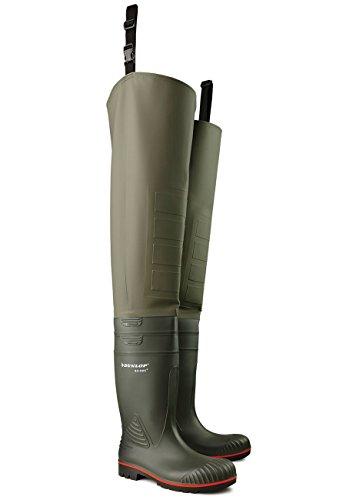 Dunlop - Calzado de protección de Material Sintético para mujer Oliv / Grün