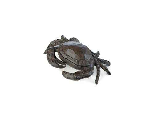 Garden Stop Door (House Key Hider, Crab Animal Key Hider Outside Garden Statue Holder - Cast Iron)