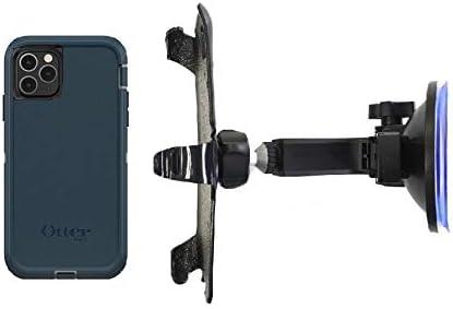 SlipGrip Car Holder for Apple iPhone 11 Pro Max Using Otterbox Defender Case HV