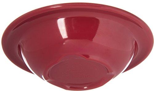 Carlisle 4304258 Durus Rimmed Melamine Fruit Bowl, 4 Oz., Roma Red (Pack of 48) by Carlisle (Image #4)