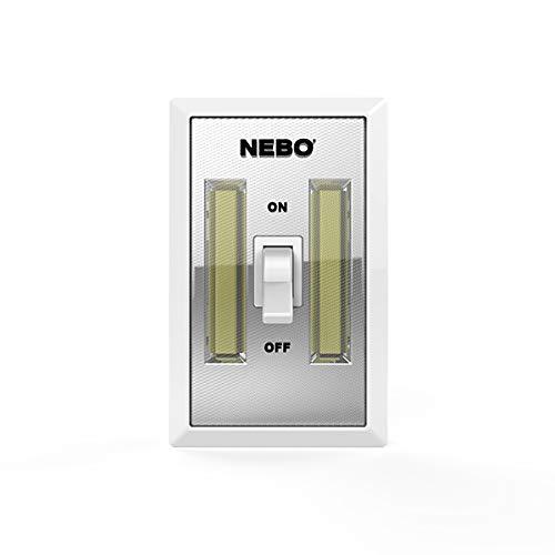NEBO TOOLS 6699 Nebo Flipit Portable 400 Lumen Led Light (3 Aa Batteries Included) (2 Pack)