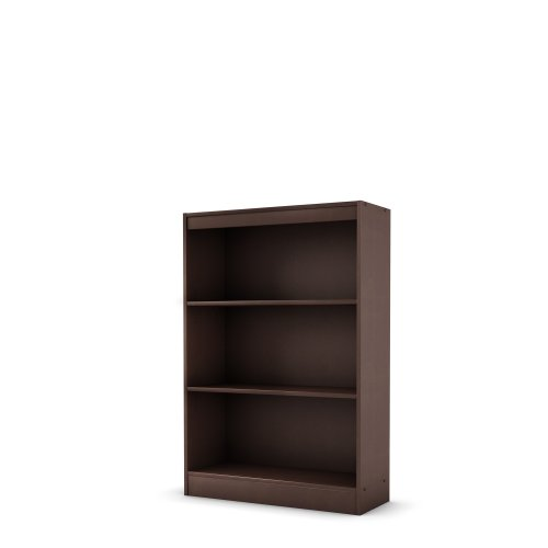 3 shelf wide bookcase