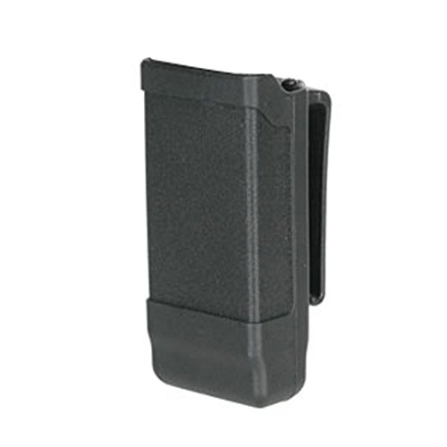 BLACKHAWK! Single Stack Mag Case Matte Finish for 9 mm, 10mm.40 Cal, and .45 Cal, Black (1911 Mag Pouch)