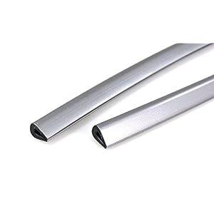 Bump Stop Front Or Rear Door Guard Clip Push On Protectors Edge Strip Grey