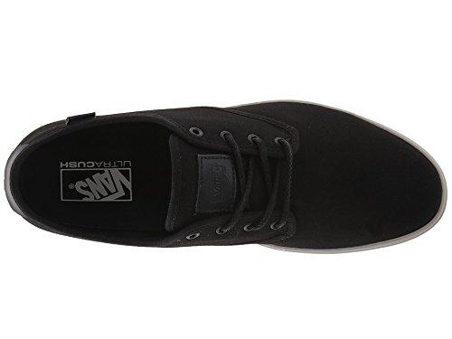Vans Ludlow + Heavy Canvas Zwart / Smoke Mens Skate Schoenen Maat 9