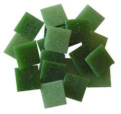 - Jennifer's Mosaics 8-Ounce Grassy Greens Mix 3/4-Inch Venetian Style Glass Mosaic Tile, Assorted Colors