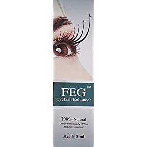 FEG Eyelash Rapid Eye Lash Growth Serum - For Eye Lash and Brow Fast Effective Growth Creates Longer & Darker Eyelashes - Best Natural Eyelash Serum in the Market by FEG