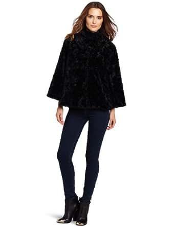 56d8855eeac0d Collection XIIX Women's Francesca Faux Fur Swing Jacket at Amazon ...