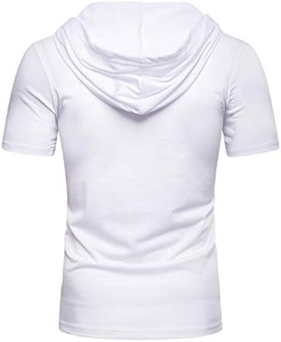 JURTEE Blusa da Uomo,Camicetta Allentata Modo A Maniche Corte Casual Top,T-Shirt Sportiva Estiva Sportiva Veloce Traspirante Espelle Il Sudore