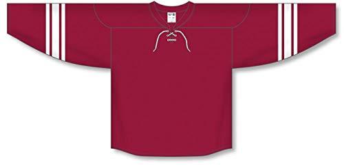 (2007 Phoenix AV RED Pro Plain Blank Hockey Jerseys)