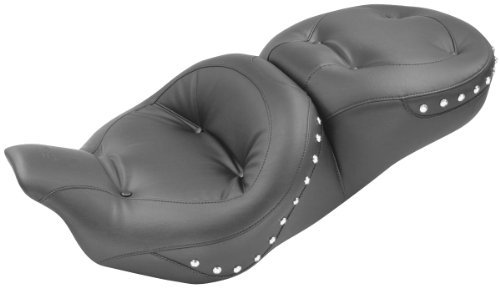 Ultra Touring Regal Seat (Mustang One-Piece Regal Touring Seat with Chrome Studs 76037)