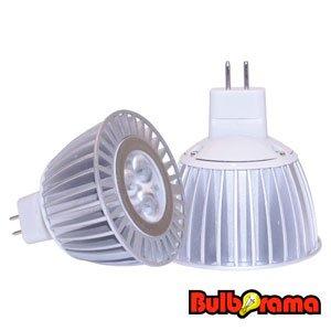 (LED MR16 FLOOD LIGHT BULB 4 WATTS 50K DAYLIGHT WHITE HIGH POWER SUPRA LIFE LED BULB)