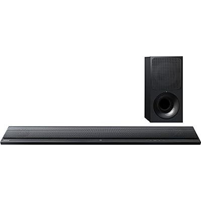 Sony Ultra-slim Sound Bar with Bluetooth HTCT390 w/ FREE Sony BDP-S3700 Streaming Blu-ray Disc Player