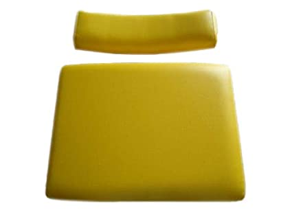 Amazon.com: Asiento amarillo para cortacésped John Deere ...