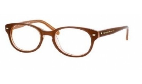 Kate Spade Rx Eyeglasses - Fallon Brown / Frame only with demo - Only Eyeglass Lenses