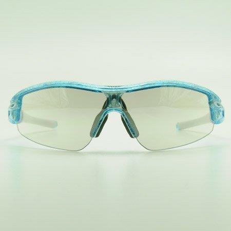 GOODMAN LENS MANUFACTURE(グッドマンレンズマニュファクチュア) OAKLEY(オークリー) RADAR(レーダー用レンズ)【PITCH-A】クリア シルバーミラー チタニウムクリアtype(サングラス 眼鏡 メガネ)   B009NEO992