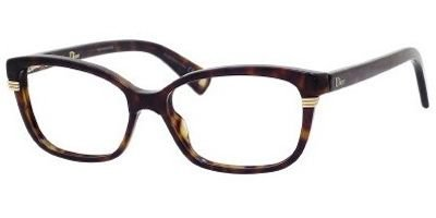 DIOR Eyeglasses 3233 0086 Dark 52MM (Christian Dior Cd Eyeglasses Frame)