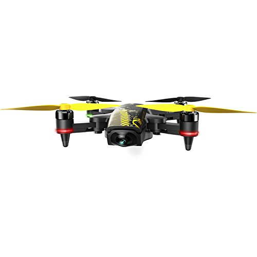 XIRO UM2213 Professional Camcorder, Foldable Portable Drone, Black