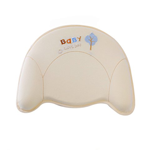 T-Y Memory Foam flat head Baby Head-shaping Pillow For Infant Nursing Pillow Positioner Baby Throw Pillow by T-Y