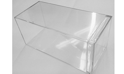 DIECAST DISPLAY CASE Pack Of 6 Heavy Duty Clear Acrylic Display Case Box For 1.24 Scale Diecast Cars