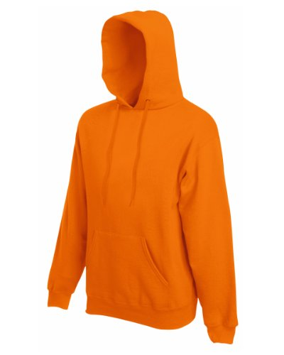 Inconnu Shirt Hooded Orange Sweat Homme gPBgx