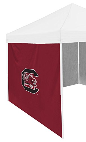NCAA South Carolina Fighting Gamecocks 9 x 6 Side Panel Shade Wall, Adult, Red
