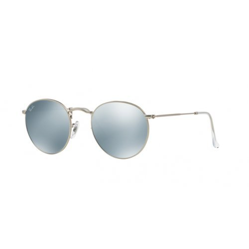 Ray-Ban Rb 3447 Sunglasses Matte Gunmetal Frame/Green Lens 47mm (Ray Ban Round Metal Green)