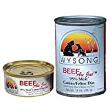 Wysong Beef Au Jus 95% Meat Canine/Feline Diet Canned Dog Food, My Pet Supplies