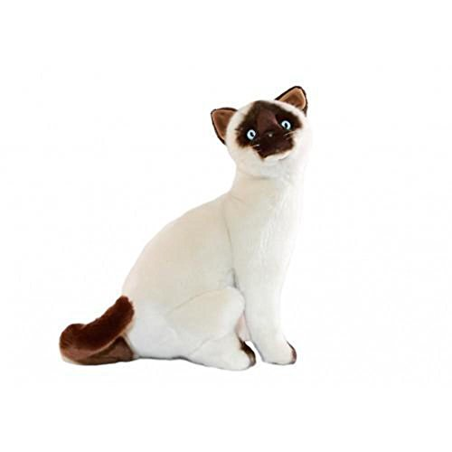 (Bocchetta Plush Toys Noodles Siamese Cat Kitten Sitting Soft Plush Toy Noodles Size 26cm/10)