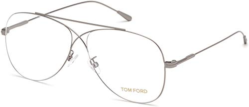 Tom Ford FT5531 Silver/Clear Lens ()