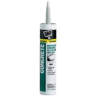 Dap Inc 18096 10.1 oz. Concrete Waterproof Filler and Sealant, Gray