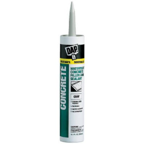 Napoli File - DAPConcrete Watertight Filler and Sealent 10.1 ounce Gray