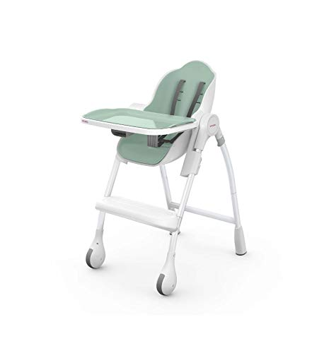 Oribel Cocoon 3-Stage Easy Clean High Chair (Pistachio)