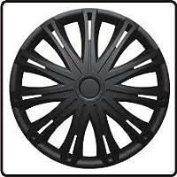 RENAULT CLIO (1998-2005) 14 Inch Spark Black Car Alloy Wheel Trims Hub